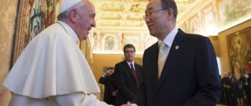 Vatican To Announce Alignment With One World Government?