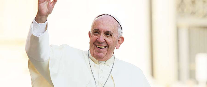 Pope wants action on natural disasters